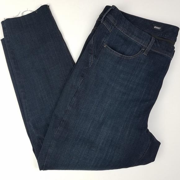 NYDJ Denim - NYDJ Curves 360 Boost Raw Hem Skinny Jeans Size 20